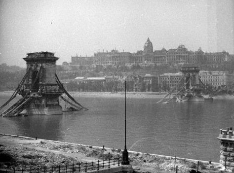 צילום הגשר בבודפשט