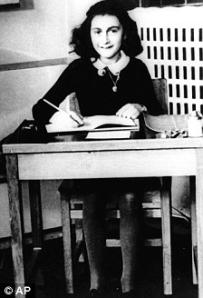אנה פראנק בכיתתה בבית הספר מונטסורי באמסטרדם