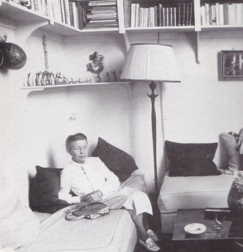 דה בובואר בביתה