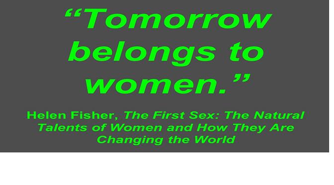"""הלן פישר: מדוע וכיצד נשים הן """"המין הראשון"""""""