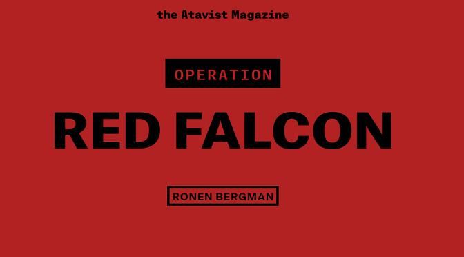 רונן ברגמן, Operation Red Falcon: על המלחמה שכמעט פרצה, היום לפני 19 שנה