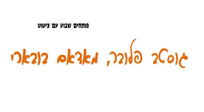 """""""מאדאם בובארי"""":  מדוע האוּמן מאושר מהאָמן"""