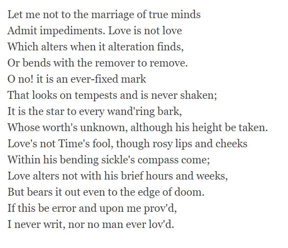 sonnet-116