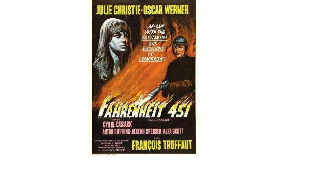 """פרנסואה טריפו, """"פרנהייט 451"""": מה קורה כששורפים ספרים"""